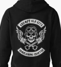 Grumpy Old Gits Chapter Pullover Hoodie