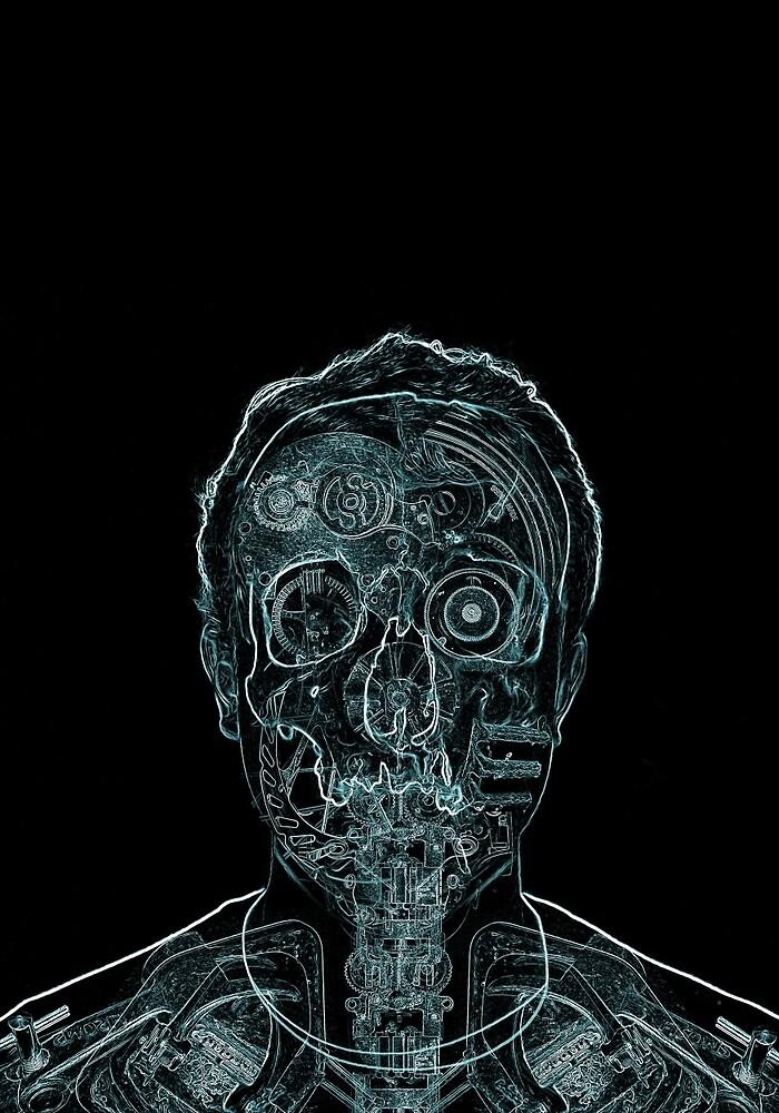 Mechanical Man by WillBrosch