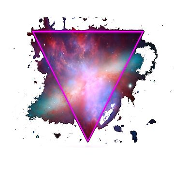 Space triangle by Aid3lis