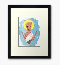 Blessed Be The Starman  Framed Print
