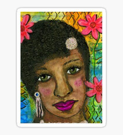 Sweet Sistah Girl Sticker
