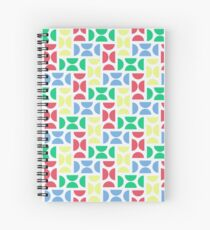Pellets Light Spiral Notebook