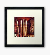 Bullets Framed Print