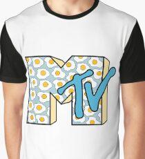 MTV Logo (Fried Eggs) Graphic T-Shirt