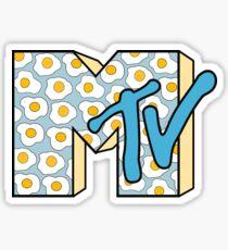 MTV Logo (Fried Eggs) Sticker