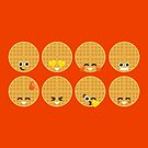Emoji Building - Waffles by SevenHundred