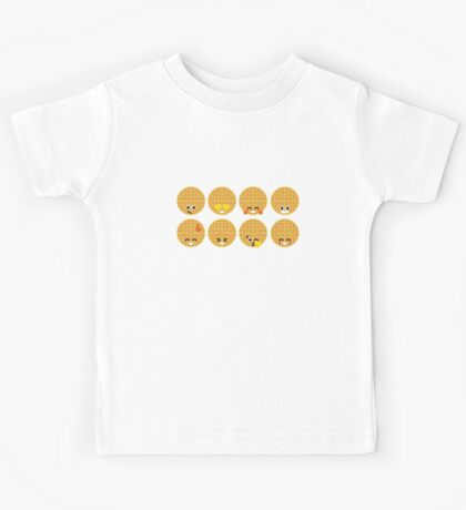Emoji Building - Waffles Kids Clothes