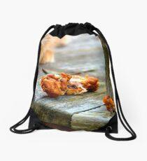 Unnatural State  Drawstring Bag