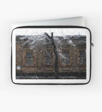 snowfall. march 2 Laptop Sleeve