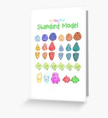 My very first standard model Greeting Card