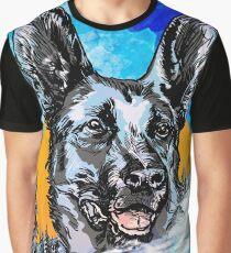 Alsatian Graphic T-Shirt