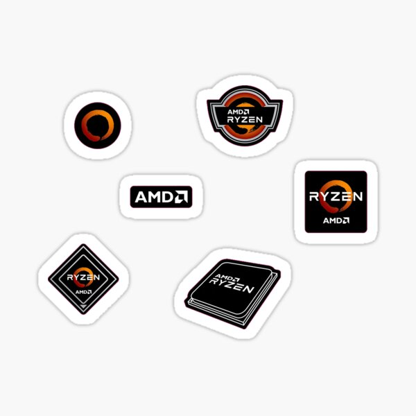 AMD RYZEN Sticker