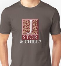 Camiseta ajustada JSTOR y Chill?