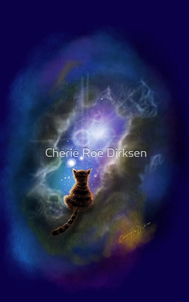 Pandora, Schrodingers Cat by Cherie Roe Dirksen