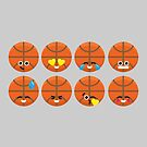 Emoji Building - Basketball by SevenHundred
