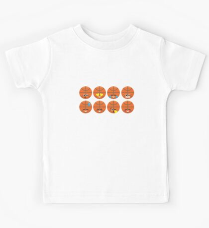 Emoji Building - Basketball Kids Clothes