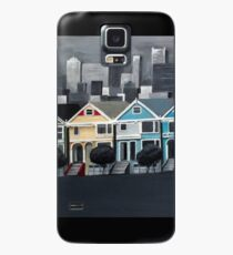 San Francisco - Painted Ladies Case/Skin for Samsung Galaxy