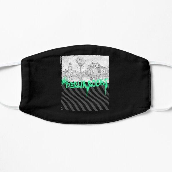 Es zeigt das berühmte Gendarmenmarkt-Design Flache Maske