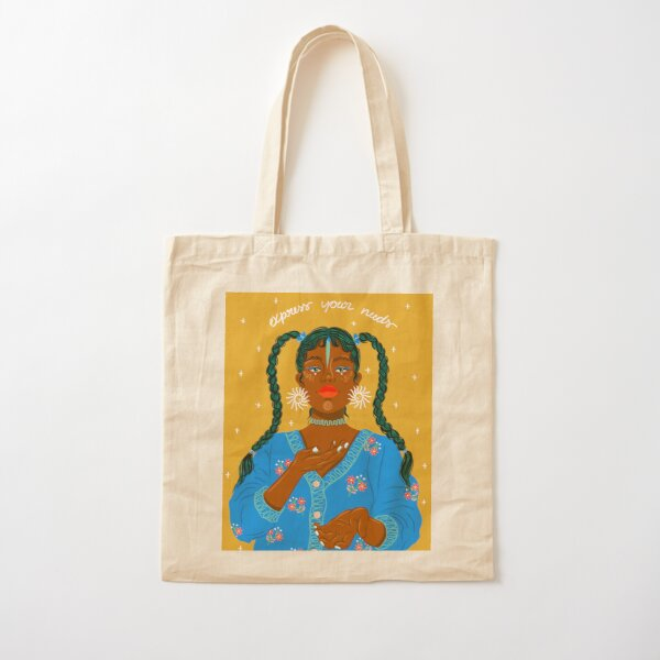 Express Your Needs Cotton Tote Bag