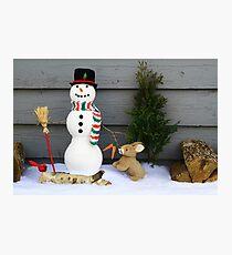 Seasons Greeting Decoration Photographic Print