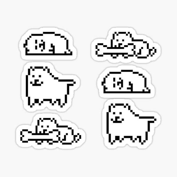 Tiny Dogs Sticker