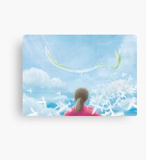 Paper Sky  Canvas Print