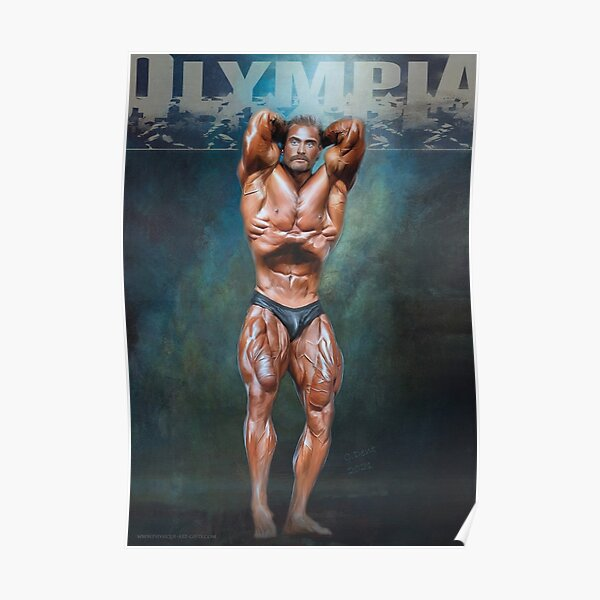 Bodybuilder Posters Redbubble