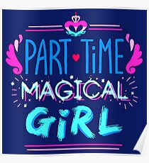 Kingdom Heart Part Time Magical Girl Poster