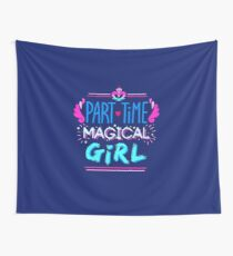 Kingdom Heart Part Time Magical Girl Wall Tapestry
