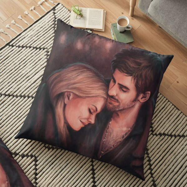 Firelight Cuddles Floor Pillow