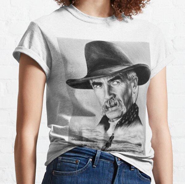 Sam Elliot Lone Rider Camiseta clásica