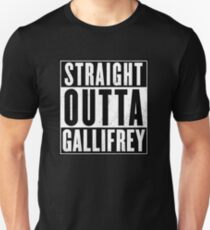 Doctor Who - Straight outta Gallifrey T-Shirt