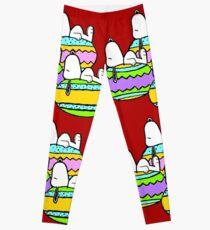 Snoopy Easter  Leggings