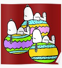 Snoopy Easter  Poster