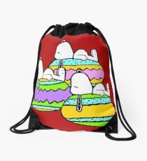 Snoopy Easter  Drawstring Bag