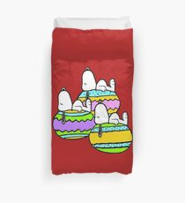 Snoopy Easter  Duvet Cover