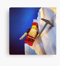 Lego Ice Climber Canvas Print