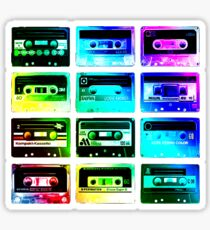 Cassettes Sticker