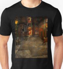 City - Germany - On a corner street 1904 Unisex T-Shirt