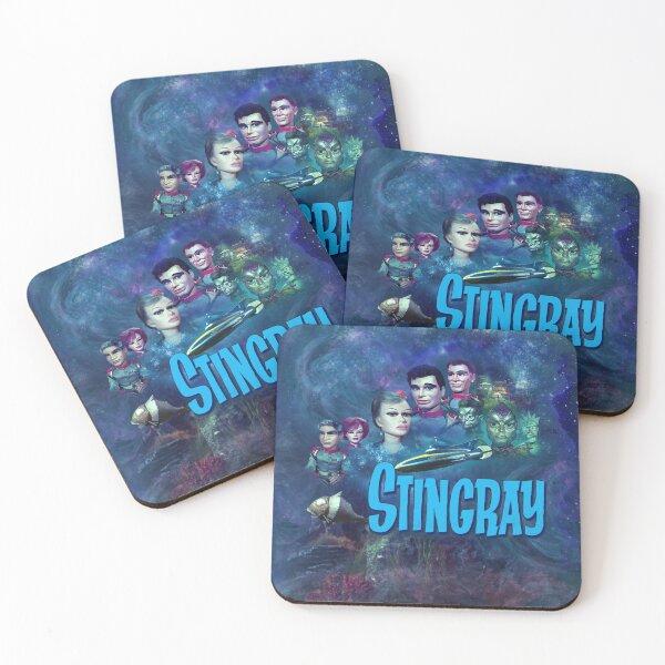 STINGRAY 1 Coasters (Set of 4)