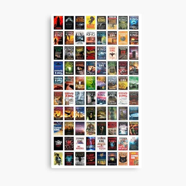 Complete works of Stephen King Metal Print