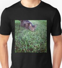 Cat on the Hunt Unisex T-Shirt