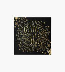 Rattle The Stars - in Gold Foil Art Board