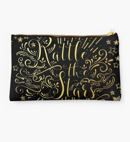 Rattle The Stars - in Gold Foil Studio Pouch