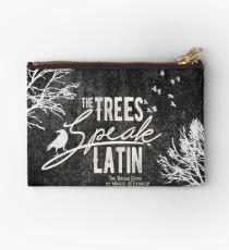 The Trees Speak Latin Studio Pouch