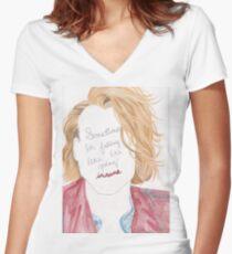 Ashton Irwin Women's Fitted V-Neck T-Shirt