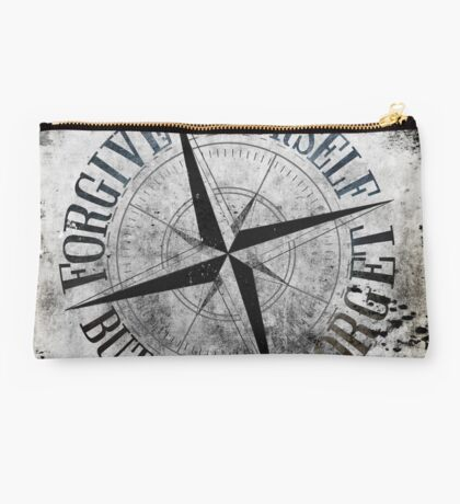 Forgive Yourself, But Never Forget Studio Pouch