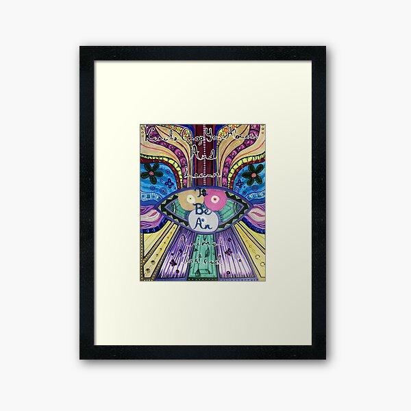 Trippy Colorful Will Wood Art Framed Art Print