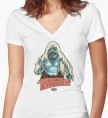 Morlock Women's Fitted V-Neck T-Shirt