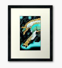Thunder Wolf Wyvern Zinogre Framed Print